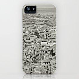 Siena, Italy, Cityscape iPhone Case