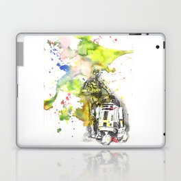 C3PO and R2D2 from Star Wars Laptop & iPad Skin