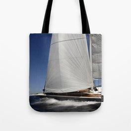 raceboat Tote Bag