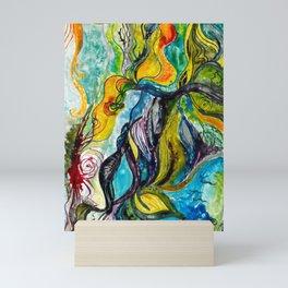 Sailing away Mini Art Print