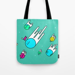 Race for the stars Tote Bag