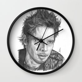 Chris Cornell Portrait Wall Clock