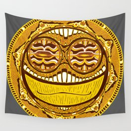 Adrenaline Mask Wall Tapestry