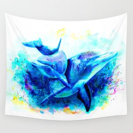 Dolphins Wall Tapestry