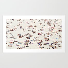 Bondi Bathers Art Print
