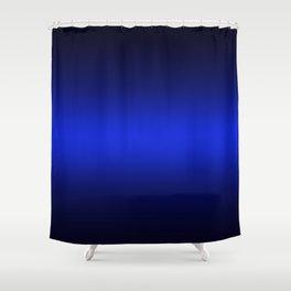Gradient 8 black blue deepspace Shower Curtain
