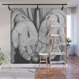Jesus Hands Wall Mural