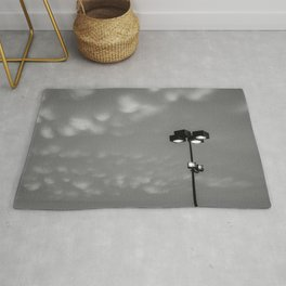 Light up the cotton balls in the sky Rug
