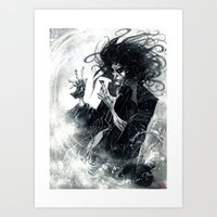 sandman Art Prints featuring Sandman 2 by Roger Cruz