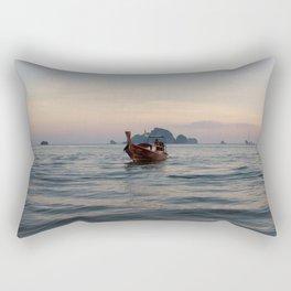 Longtail Boat, Phuket Thailand Rectangular Pillow