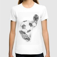 football T-shirts featuring Football by Dianadia
