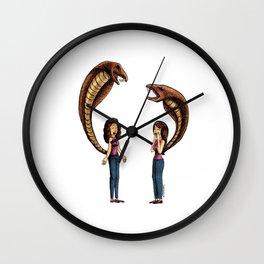 Coincidencia rencillosa. Wall Clock