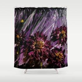 Dahlia Storm Shower Curtain