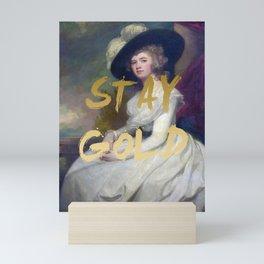 STAY GOLD Poster Print Mini Art Print