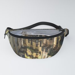 Reflection of a rainy day Fanny Pack