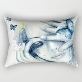 Catch me in your dreams Rectangular Pillow