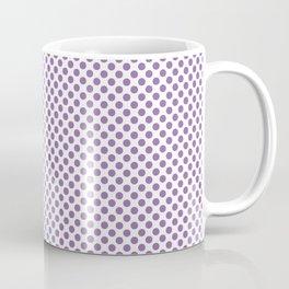 Amethyst Orchid Polka Dots Coffee Mug