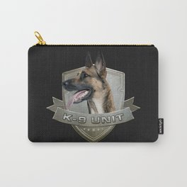 K9 Unit  - Malinois Carry-All Pouch