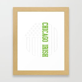 Chicago Irish products by Howdy Swag print Framed Art Print