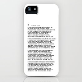 IF #minimalism iPhone Case