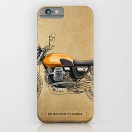 226 - 2012 MOTO GUZZI V7 SCRAMBLER iPhone Case