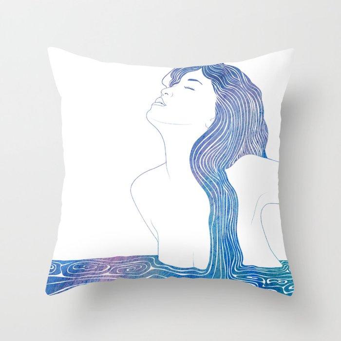 Nereid XXXVII Throw Pillow