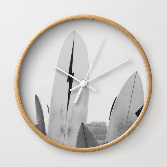 Surf Boards Wall Clock