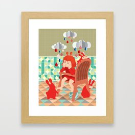 A Day To Idle And Daydream Framed Art Print
