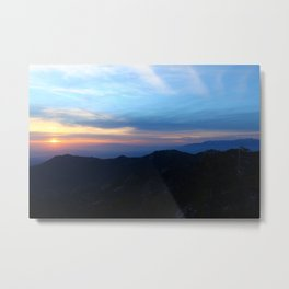 Pacific Crest Trail Sunset  Metal Print