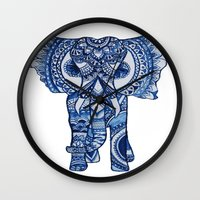 ellie goulding Wall Clocks featuring Ellie by charliey with heart