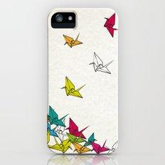 cranes origami iPhone (5, 5s) Slim Case