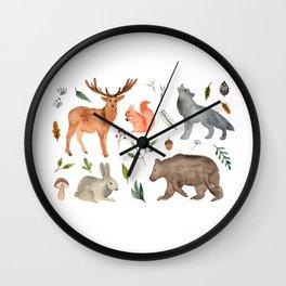 Forest team Wall Clock