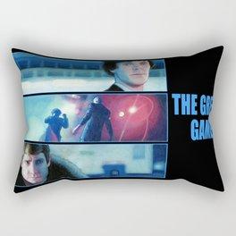 The Great Game Rectangular Pillow