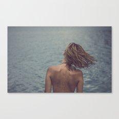 cris back Canvas Print