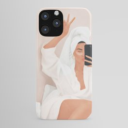 Morning Selfie iPhone Case
