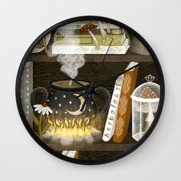 herbalist Wall Clock