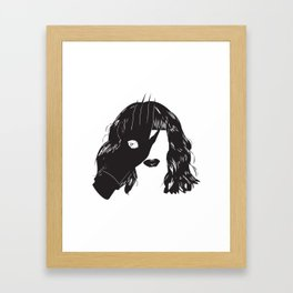 Yekaterina Petrovna Zamolodchikova Black&White Framed Art Print