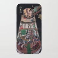 physics iPhone & iPod Cases featuring The house of the queen of physics by Gustaf's shop