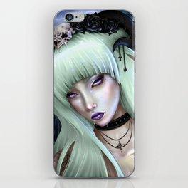 Gothic Succubus iPhone Skin