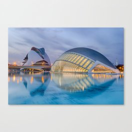 C A L A T R A V A | architect | City of Arts and Sciences III Canvas Print