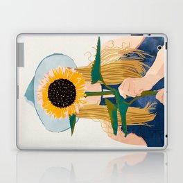 Miss Sunflower || Laptop & iPad Skin