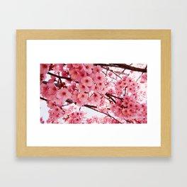 The essence of spring Framed Art Print