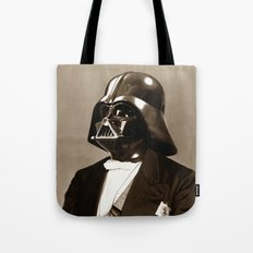 Portrait of Sir Vader Tote Bag