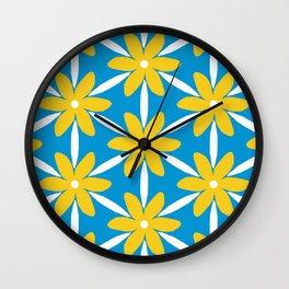 Bright Daisy Wall Clock