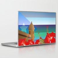 puerto rico Laptop & iPad Skins featuring Puerto Rico by PADMA DESIGNS PR