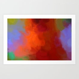 Recalled By Messages Art Print