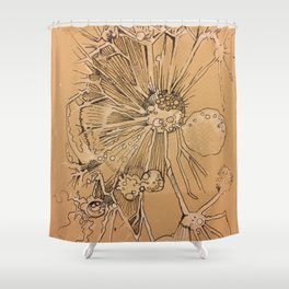 Dandelion #1 Shower Curtain