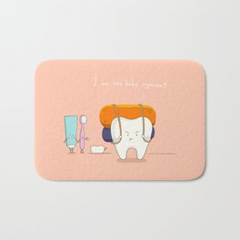 I am not baby anymore ! Bath Mat