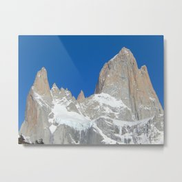 Fitz Roy and His Friends in Patagonia Metal Print