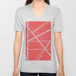 Crossroads - Pink Unisex V-Neck